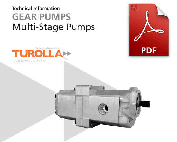 Gear-Pumps-Multistage von Turolla, PDF-Datei zum Download