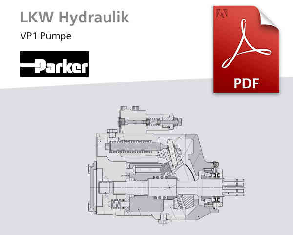 Frankonia Hydraulik: VP1 Verstellpumpen Parker LKW-Hydraulik