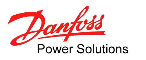 Danfoss Power-Solutions Logo, rot schwarz